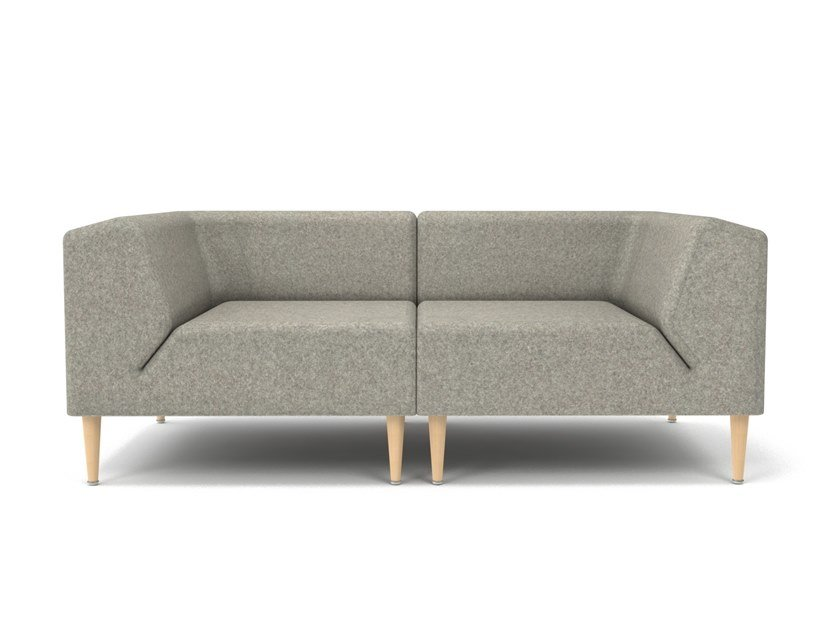 Sectional 2 Seater Fabric Sofa Mood By Oot