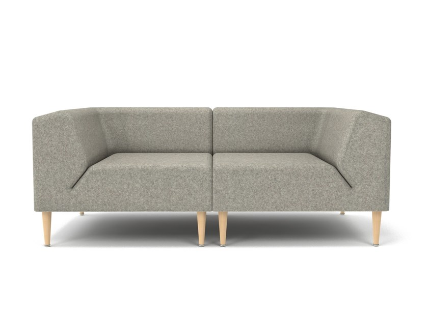 Perfect Sectional 2 Seater Fabric Sofa MOOD | 2 Seater Sofa By OOT OOT