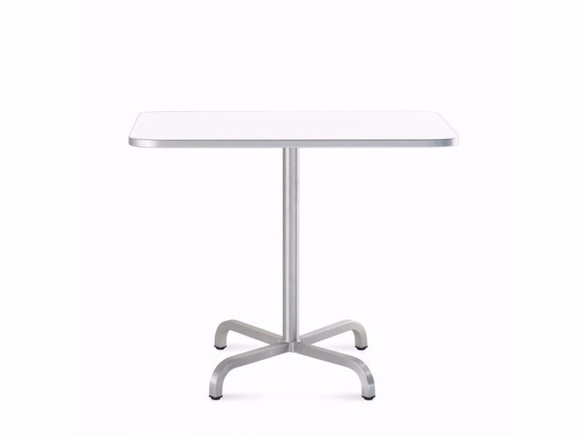 Square aluminium table 20-06™ | Aluminium table by Emeco