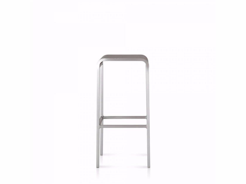 High aluminium stool 20-06™ | High stool by Emeco