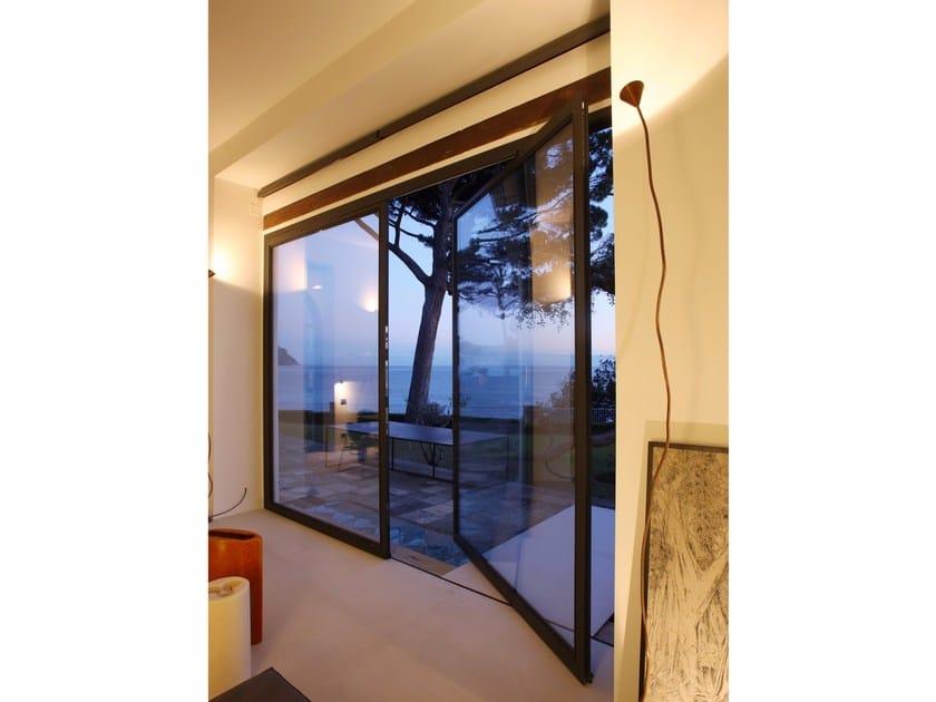 Steel horizontally pivoted window 20/10® | Horizontally pivoted window by PALLADIO