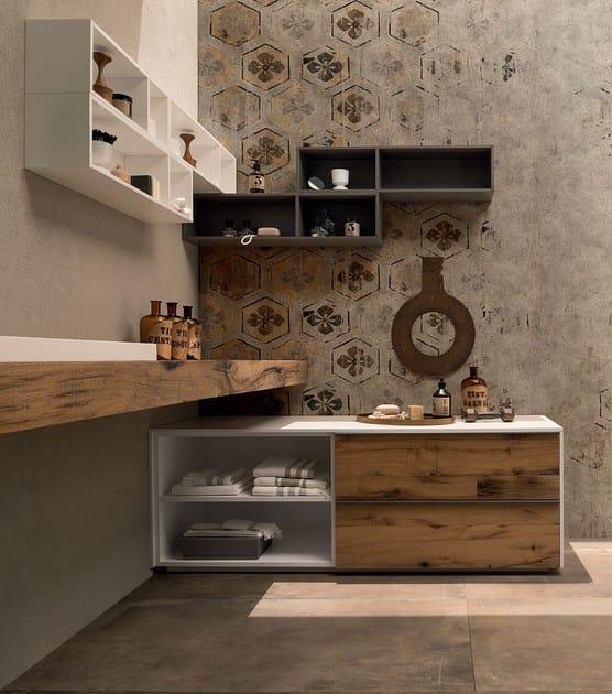 Ceramic bathroom furniture set 20 QUERCIA By RAB Arredobagno