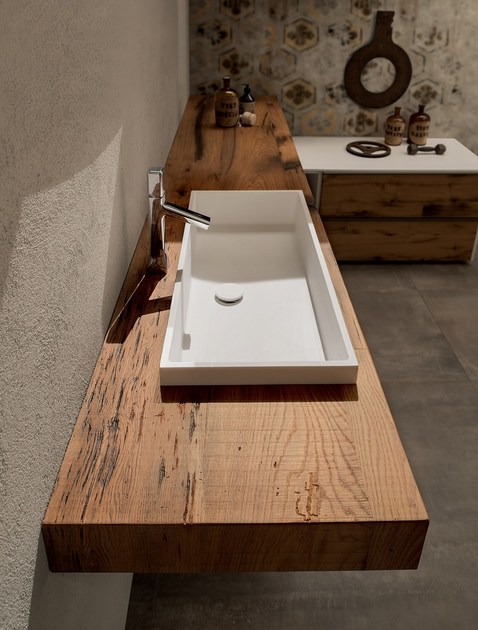 bathroom furniture set 20 QUERCIA By RAB Arredobagno