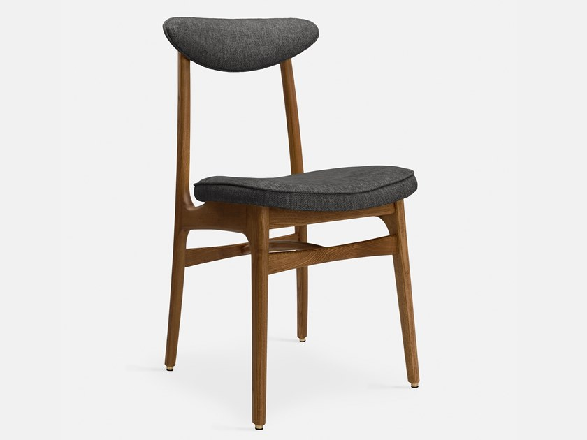 Fabric and wood chair with open back 200-190 LOFT | Fabric chair by 366 Concept s.c.