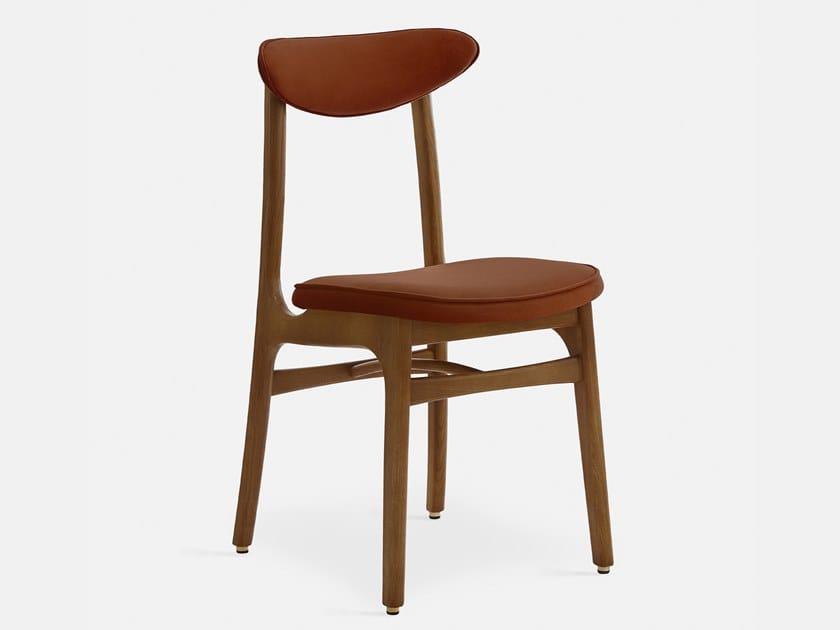 Velvet chair with integrated cushion 200-190 VELVET by 366 Concept s.c.