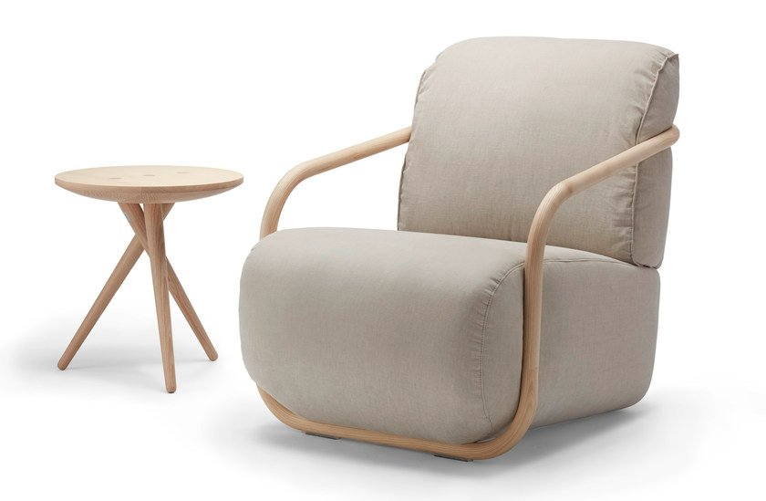 Armchair with armrests 2001 by THONET