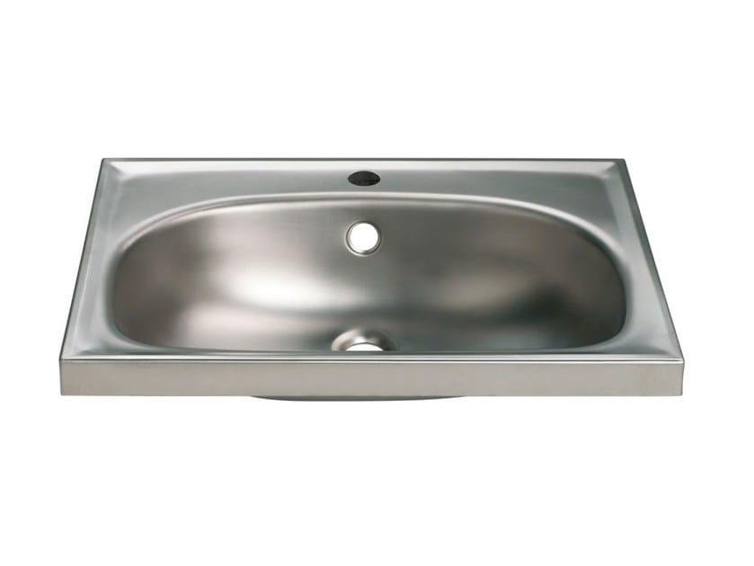 Oval single stainless steel washbasin 2012 | Washbasin by Saniline