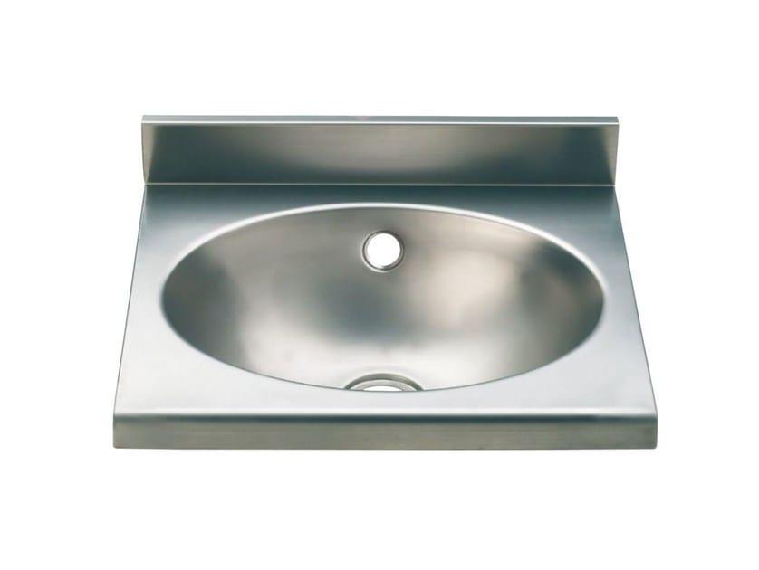 Oval single stainless steel washbasin 2014 | Washbasin by Saniline