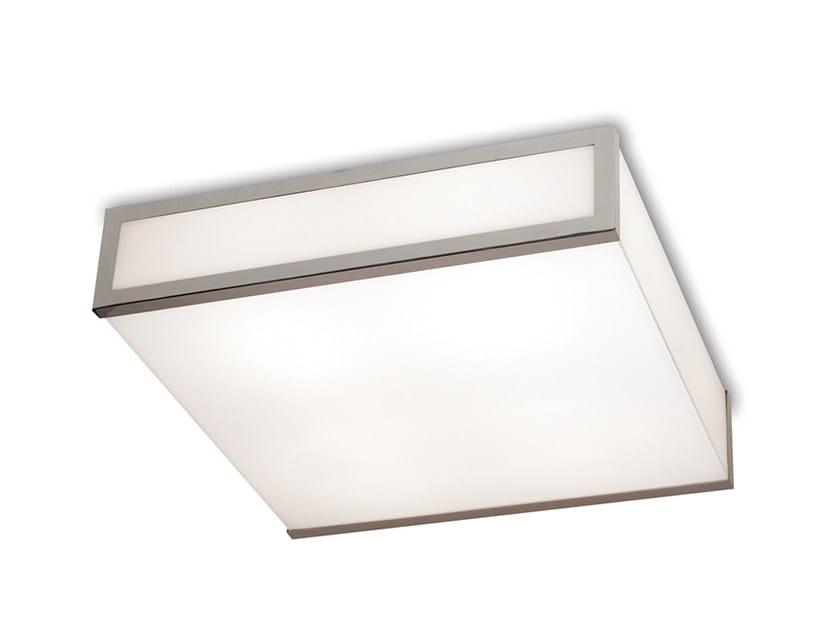 Direct light glass ceiling light 2045 | Ceiling light by Jean Perzel