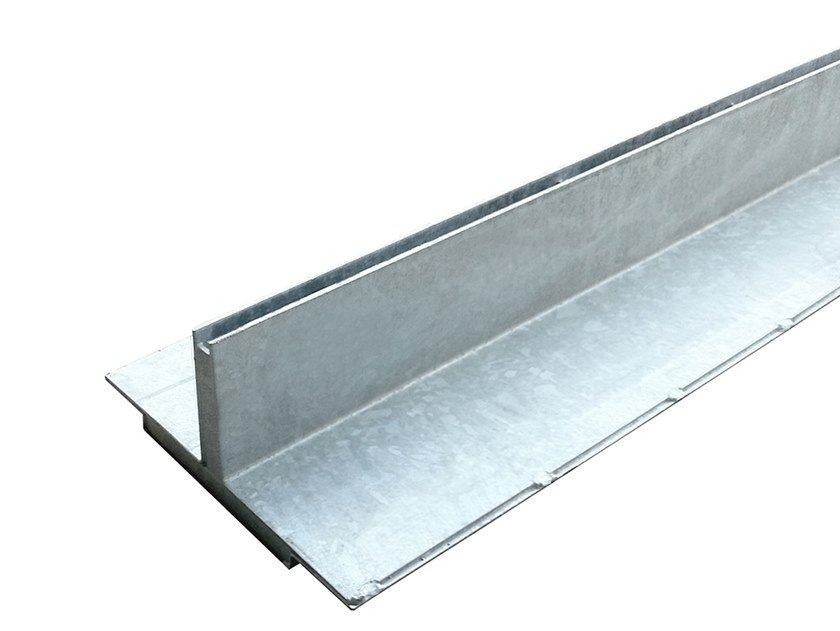 Galvanized steel Drainage channel and part Slotted grating galv. by Pircher