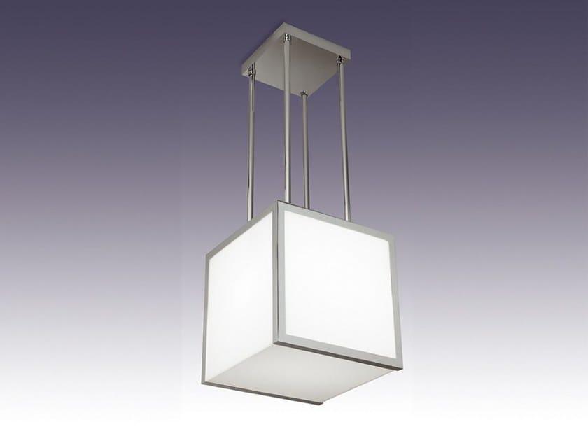 Direct light glass pendant lamp 2075 S   Pendant lamp by Jean Perzel