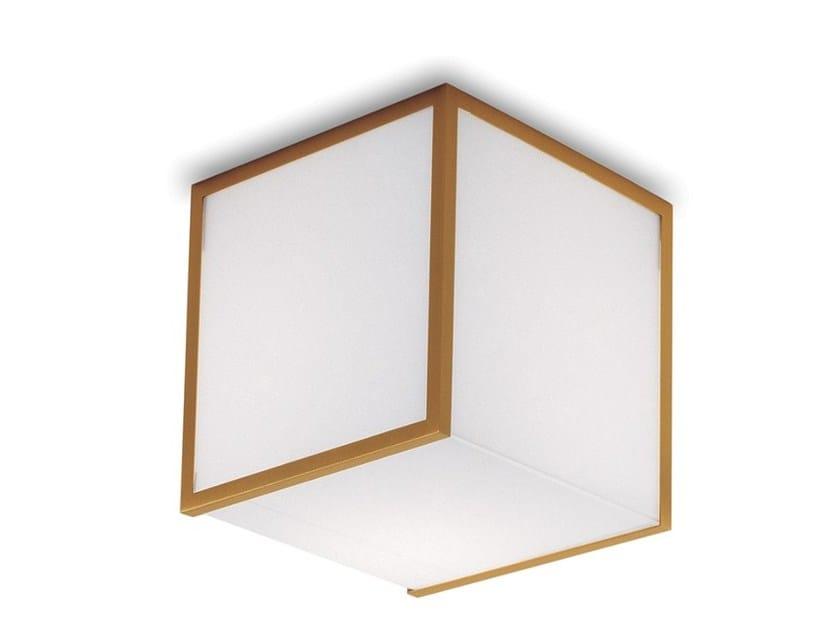 Plafoniera a luce diretta in vetro 2075 | Plafoniera by Jean Perzel