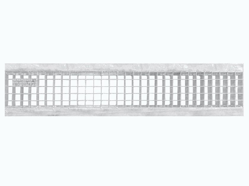 Galvanized steel Manhole cover and grille for plumbing and drainage system Mesh grating galvanized 150L by Pircher