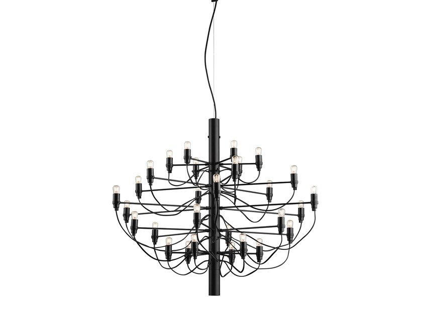 Chandelier FLOS - 2097 /30 Black Clear by Archiproducts.com