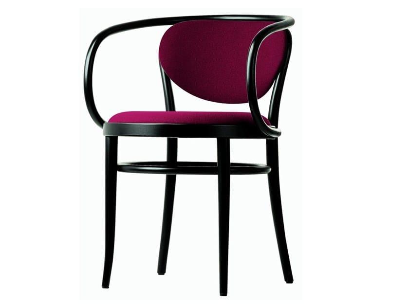Sedia con seduta e schienale imbottiti 210 P by THONET