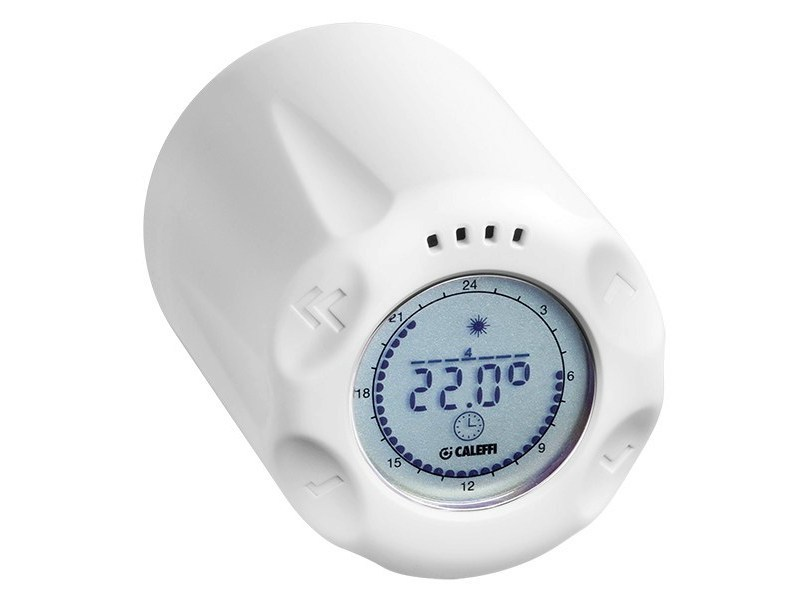 Stand-alone chrono-thermostatic control head 210 | WiCAL® Sistema stand-alone by CALEFFI