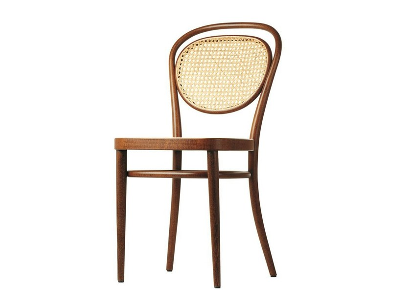 Solid wood chair 215 R by THONET