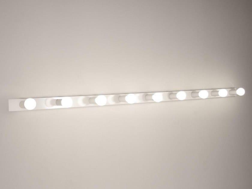 LED handmade metal Mirror lamp 2160 A9   Wall lamp by Luz Difusión