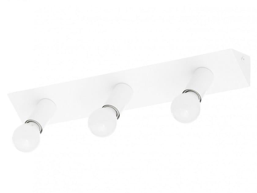 LED handmade metal Mirror lamp 2160 AT3   Wall lamp by Luz Difusión