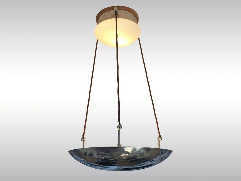 Metal pendant lamp ANTONIO by Woka Lamps Vienna