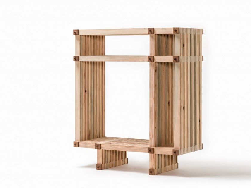 Open wooden bookcase #22 | Open bookcase by Linie by Cabana