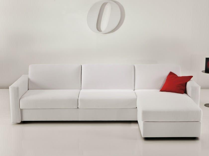 2200 squadroletto divano letto con chaise longue by vibieffe - Chaise longue divano ...