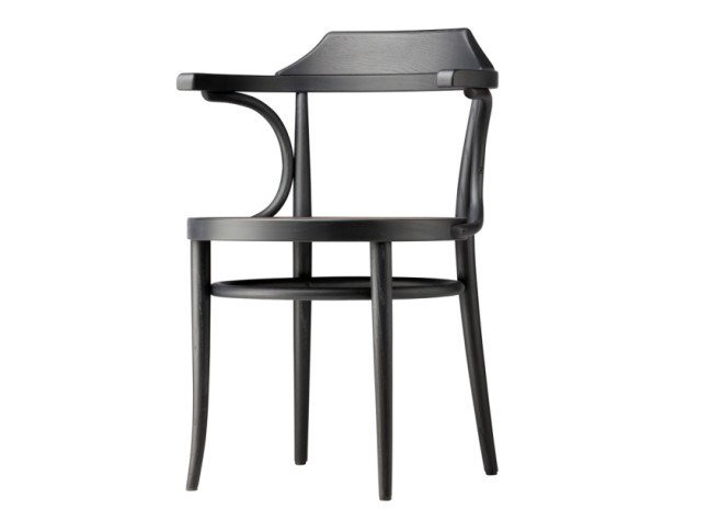 Chair with moulded plywood seat 233 M by Thonet