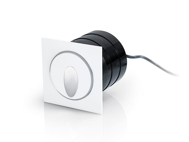 LED wall-mounted aluminium steplight 235 by NOBILE ITALIA