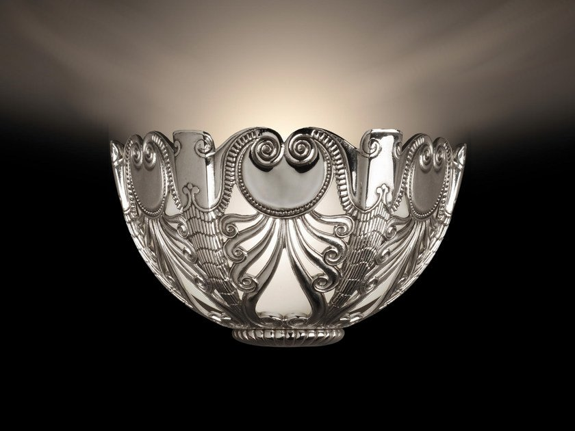 Indirect light bronze wall light 23500 | Wall light by Tisserant