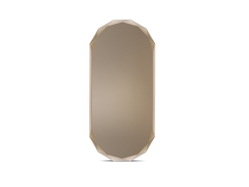Oval wall-mounted mirror 24.12 | Oval mirror by Atipico