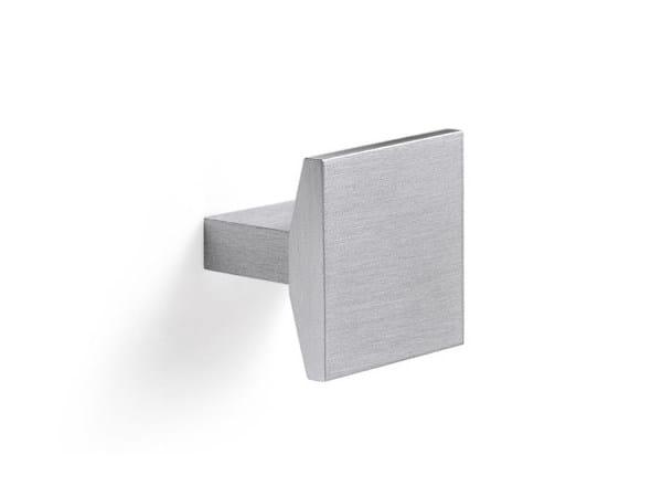 Aluminium and zamak furniture knob 24102 | Furniture knob by Cosma