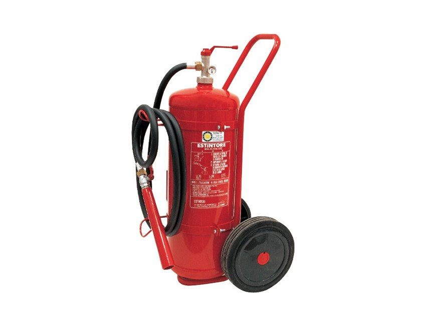 Powder fire extinguisher 242 by R.M. MANFREDI