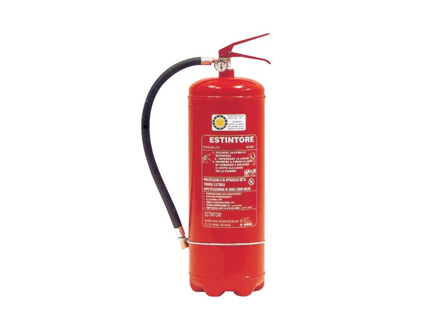 Foam fire extinguisher 243 by R.M. MANFREDI