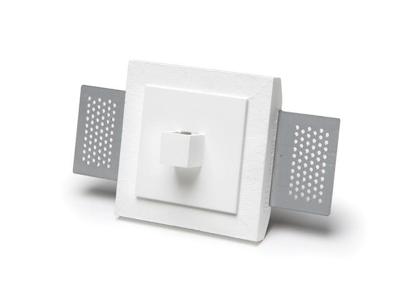 Lampada da parete a incasso a LED in Cristaly® 2466B | Lampada da parete a incasso by 9010 novantadieci