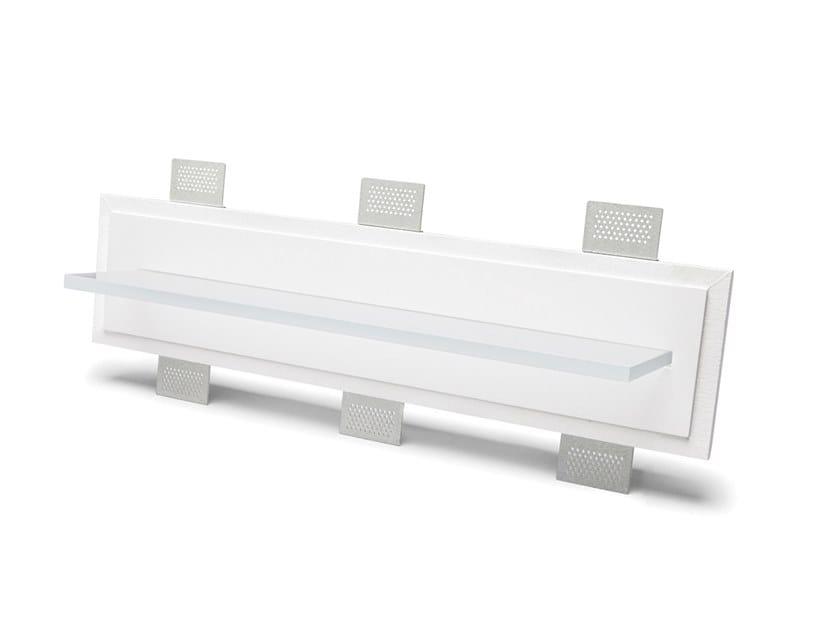 Lampada da parete a incasso a LED in Cristaly® 2484B | Lampada da parete a semi-incasso by 9010 novantadieci