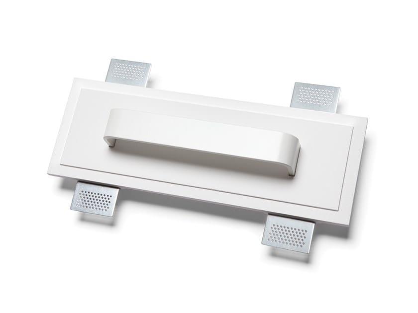 Lampada da parete a LED a incasso in Alumite® e Cristaly® 2485A   Lampada da parete a incasso by 9010 novantadieci