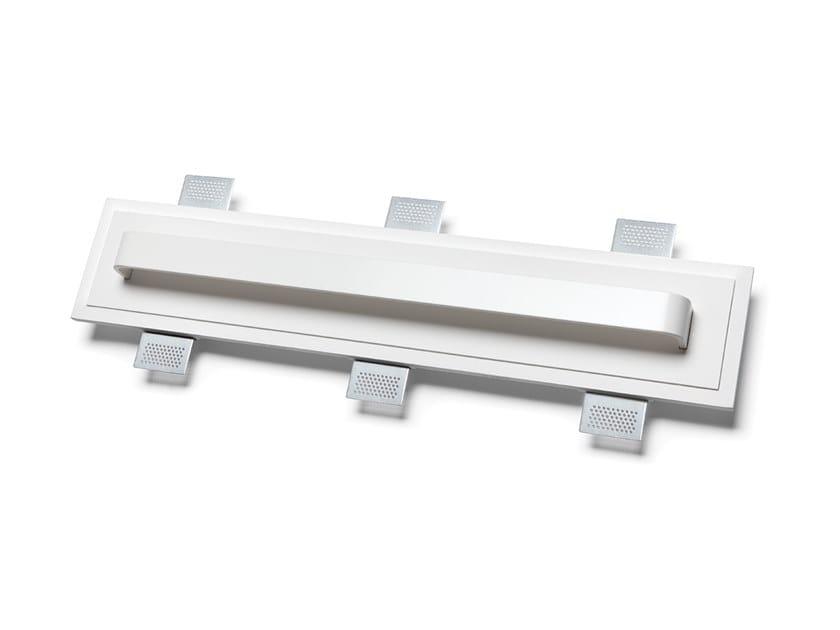 Lampada da parete a LED a incasso in Alumite® e Cristaly® 2485C | Lampada da parete a incasso by 9010 novantadieci