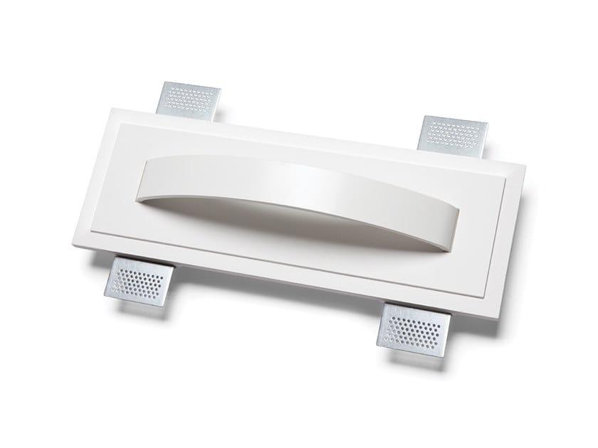 Lampada da parete a LED a incasso in Alumite® e Cristaly® 2486A | Lampada da parete a incasso by 9010 novantadieci