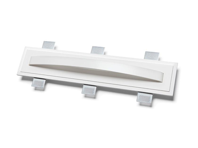 Lampada da parete a LED a incasso in Alumite® e Cristaly® 2486B | Lampada da parete a incasso by 9010 novantadieci