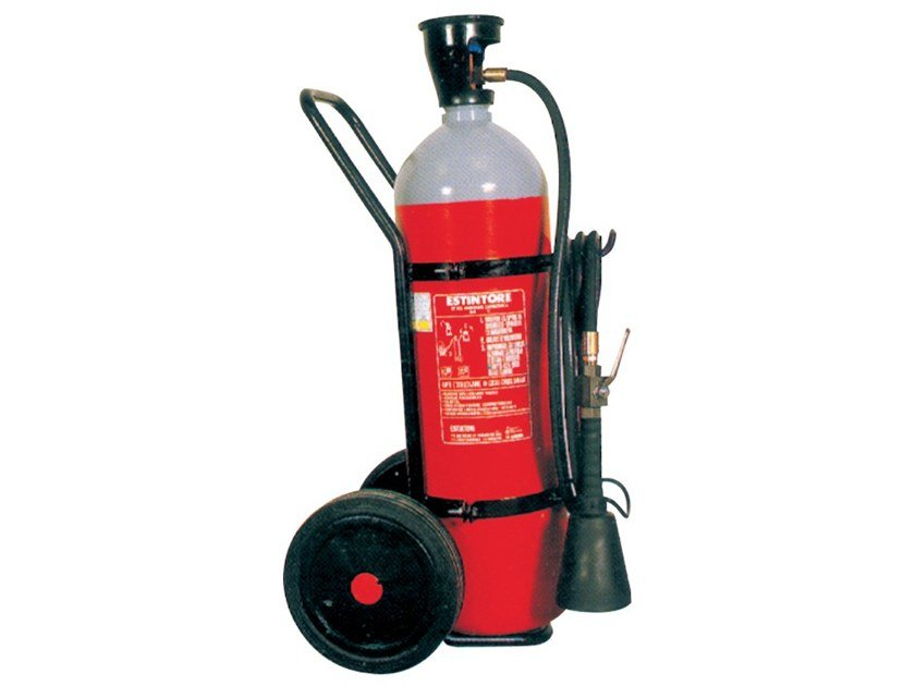CO2 fire extinguisher 249 by R.M. MANFREDI