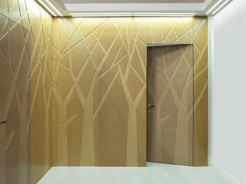 Hinged flush-fitting wooden door 25° BY ARNAUDO by Bertolotto Porte