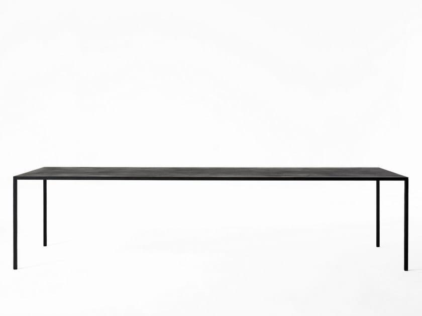 Tavolo rettangolare 25 | Tavolo in materiale composito by Desalto