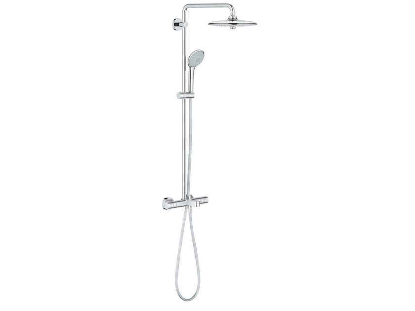 Wall-mounted thermostatic shower panel EUPHORIA SYSTEM 26114001 | Shower panel by Grohe