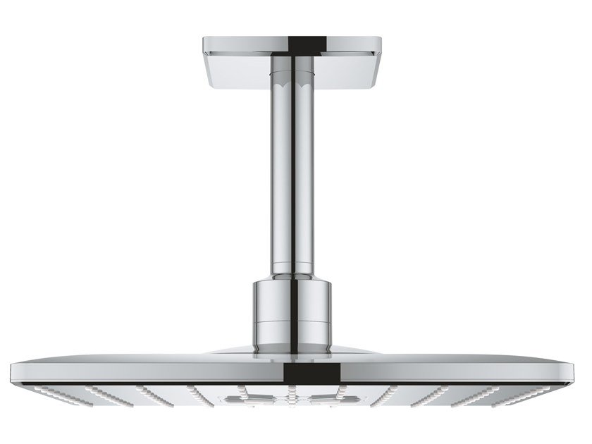 Ceiling mounted 2-spray rain shower RAINSHOWER SMARTACTIVE 26481000 | Overhead shower by Grohe