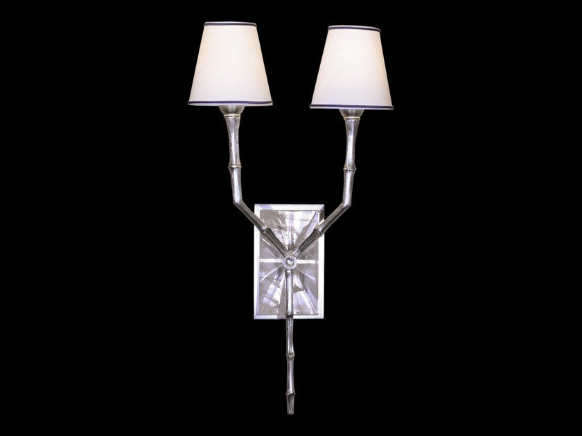 Bronze wall lamp with fixed arm 26500 | Wall lamp by Tisserant