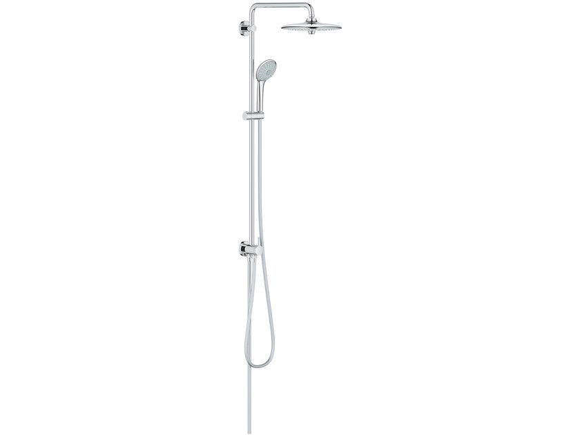 Wall-mounted shower panel with hand shower with overhead shower EUPHORIA SYSTEM 27421002 | Shower panel by Grohe