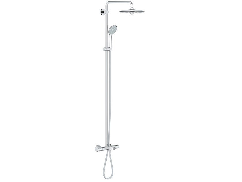 Wall-mounted thermostatic shower panel EUPHORIA SYSTEM 27475001 | Shower panel by Grohe