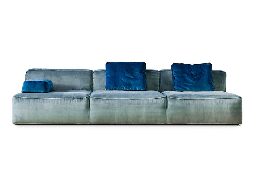 3 seater fabric sofa 275 GLAM | 3 seater sofa by Vibieffe