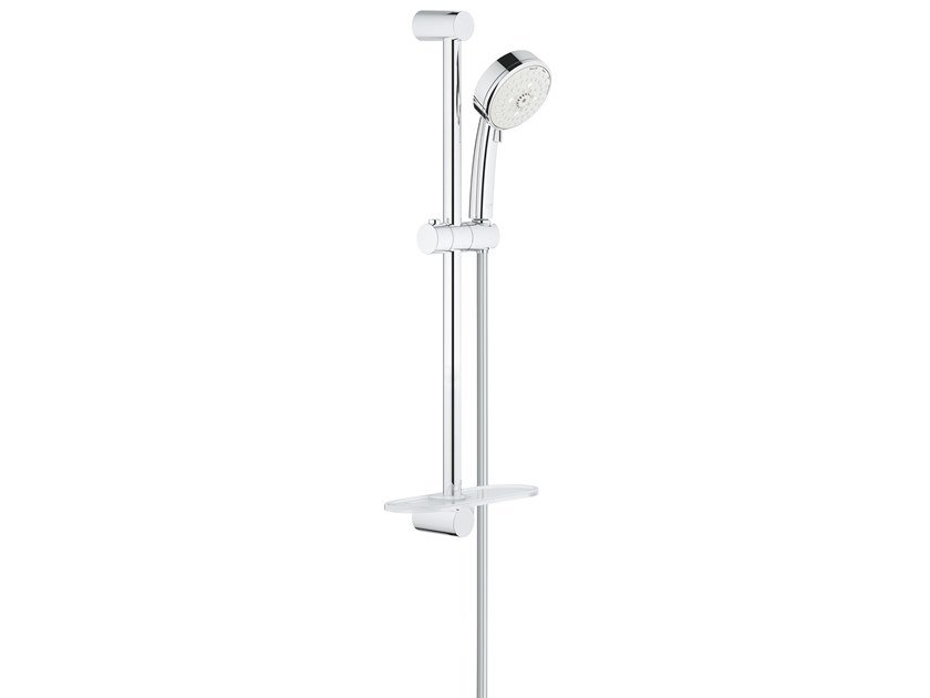 Shower wallbar with hand shower with hose with soap dish NEW TEMPESTA COSMOPOLITAN 27577002 | Shower wallbar by Grohe