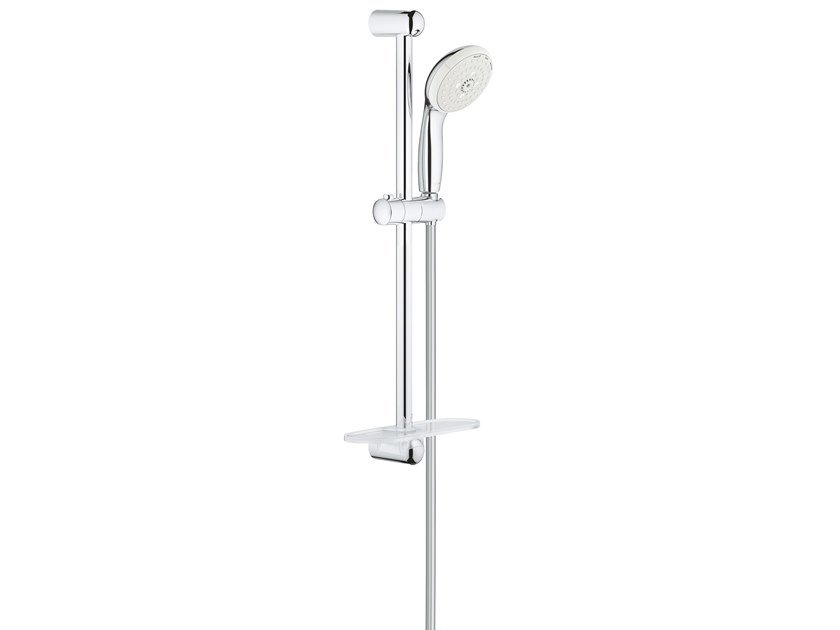Shower wallbar with hand shower with hose with soap dish NEW TEMPESTA CLASSIC 27600001 | Shower wallbar by Grohe